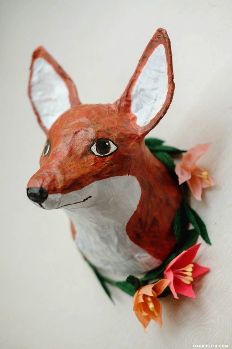 Paper mache animals images galleries for Making paper mache animals