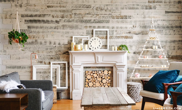 panel walls for living room. DIY Wood Panel Wall with Stikwood How to Refresh your Home Decor Decorative Panels