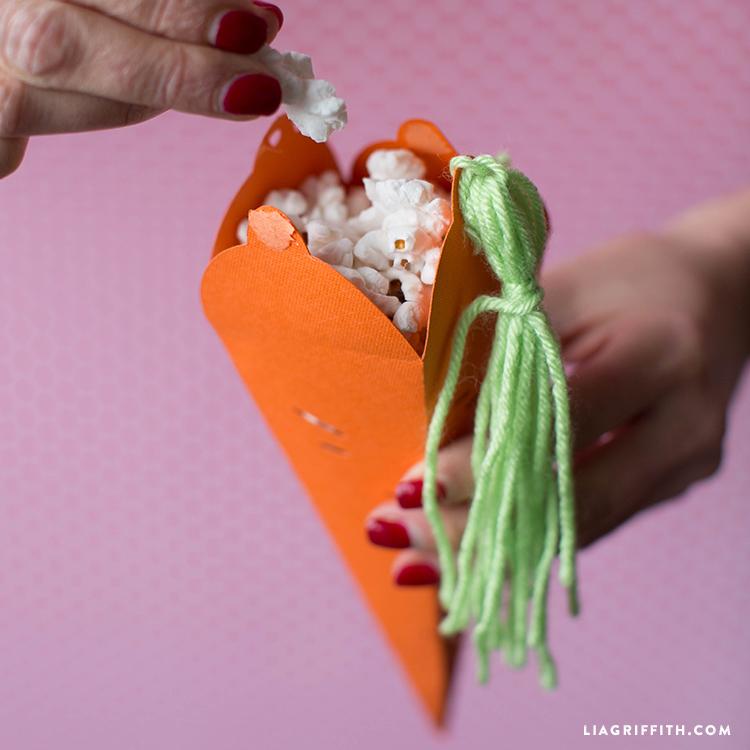 DIY Popcorn Cone