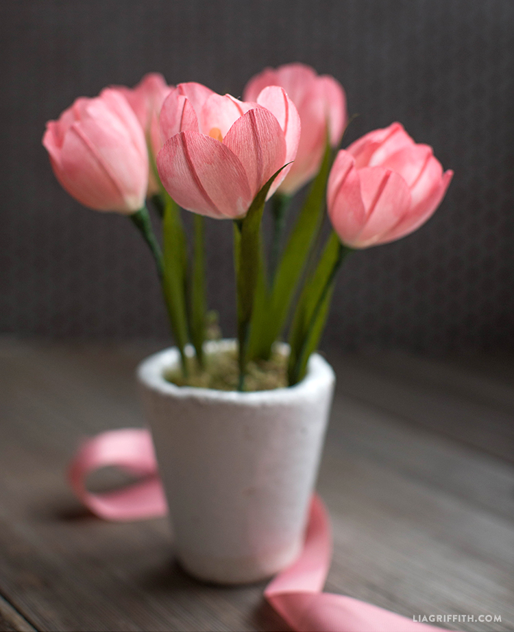 Make Beautiful Crepe Paper Tulips In 9 Easy Steps