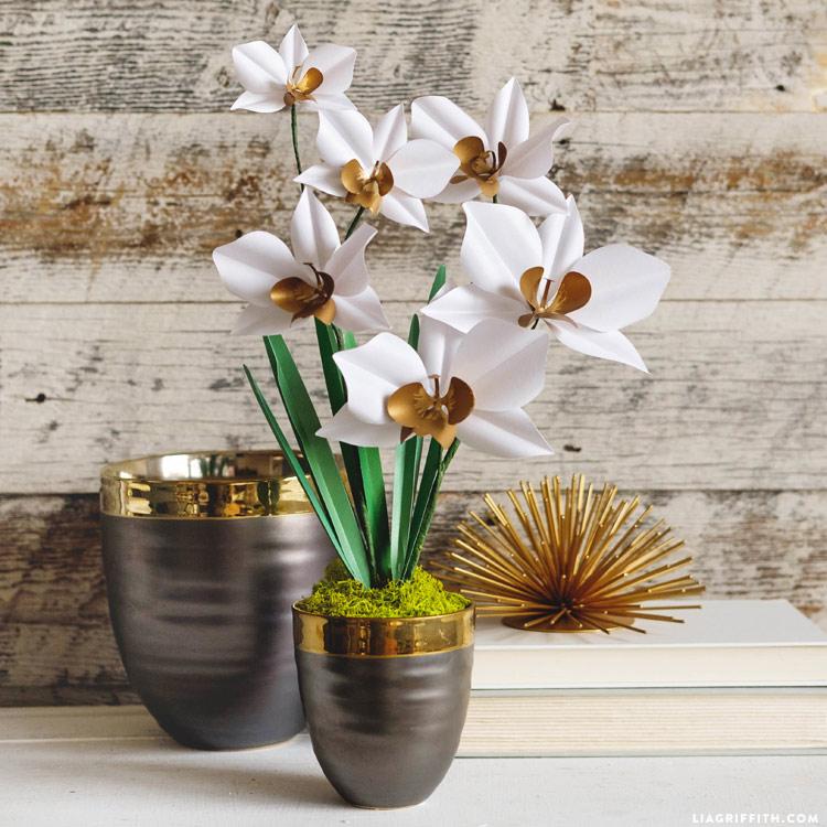 DIY Paper Orchid