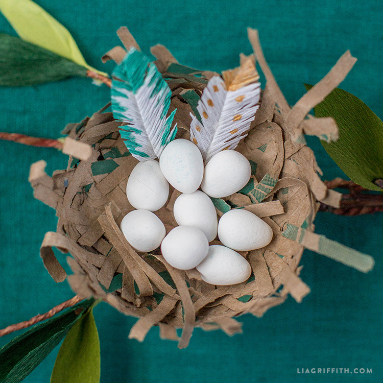 Paper Bird's Nest