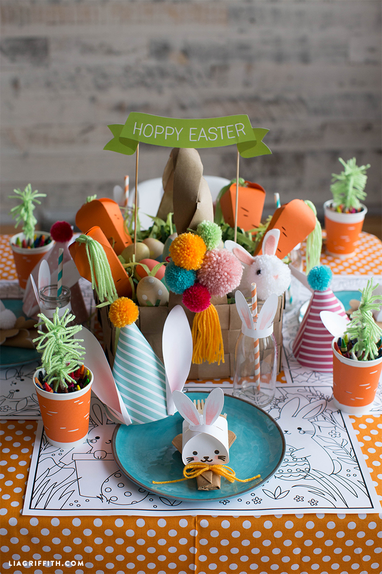 Save Hoppy Easter Banner PDF