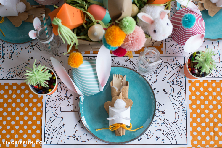 How to Set a Kid\'s Easter Table