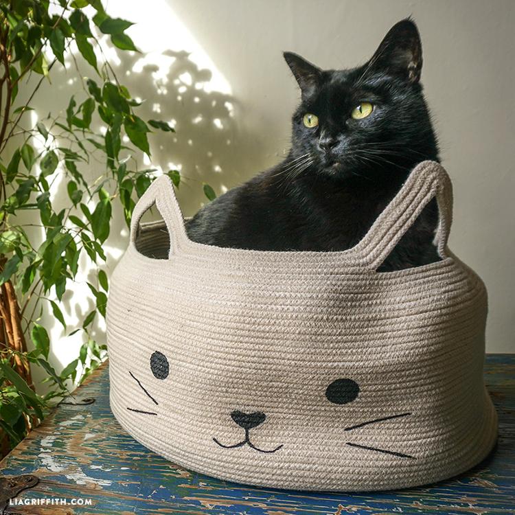 Handmade cat bed
