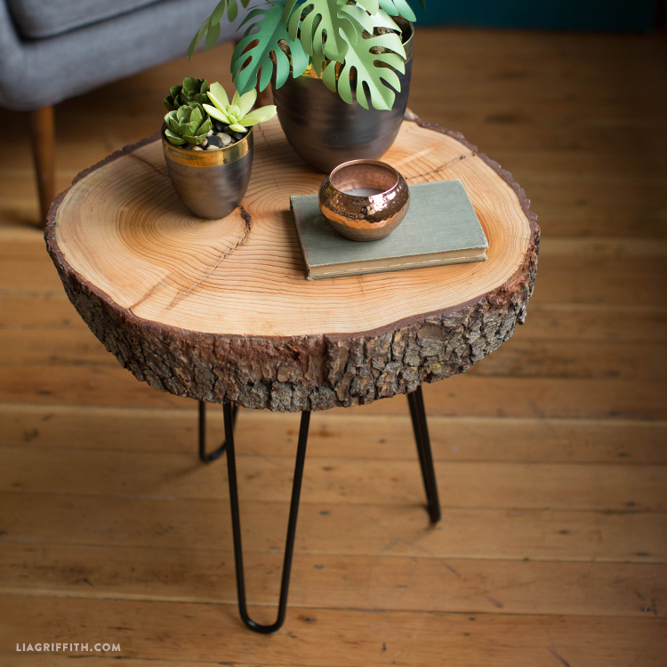 How To Make A Wood Side Table