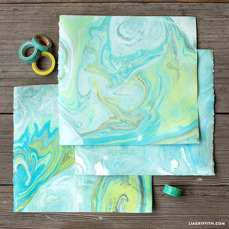 Video Tutorial How To Make Marbled Paper