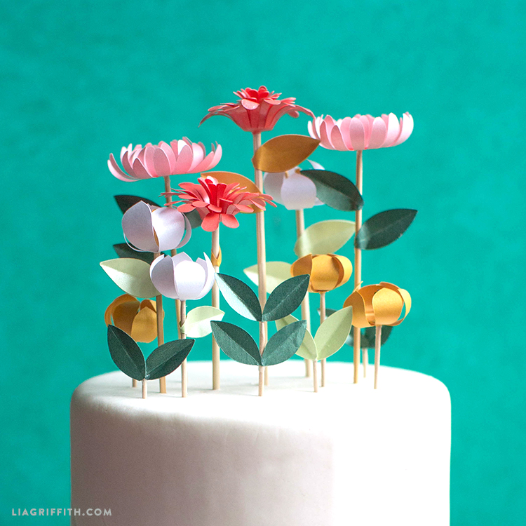 diy wedding cake flowers diy flower cake toppers 13631