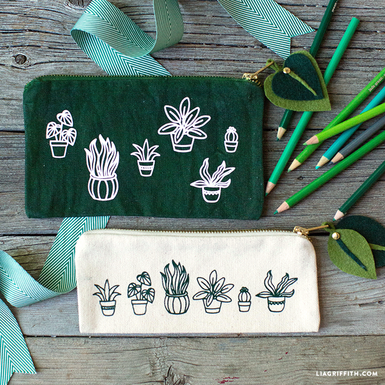 Botanical Pencil Bags