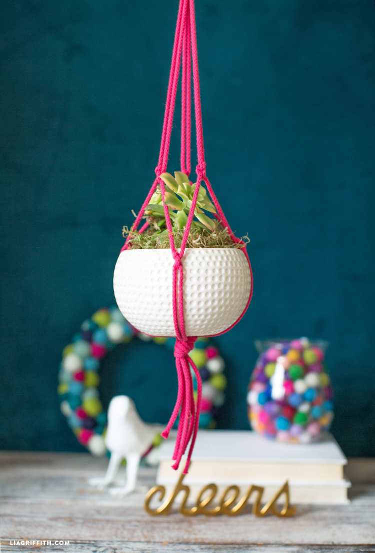 Easy Diy Macrame Plant Hanger Tutorial
