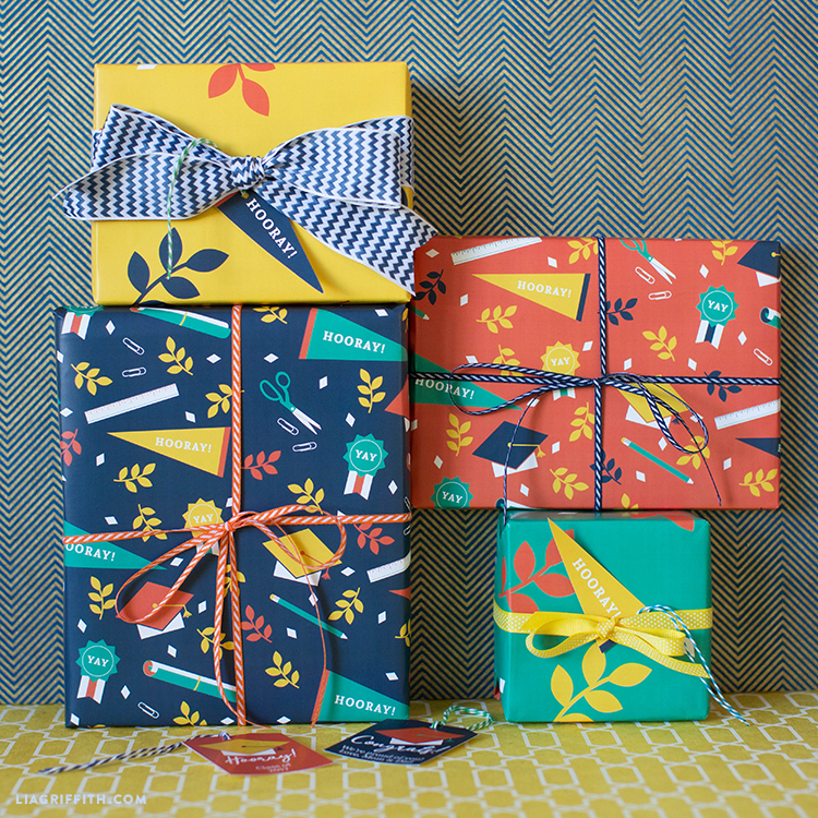 School Related Gift Wrap