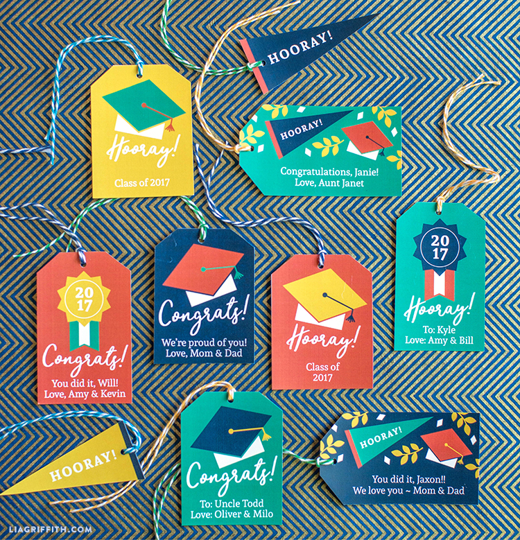 Graduation Gift Tags