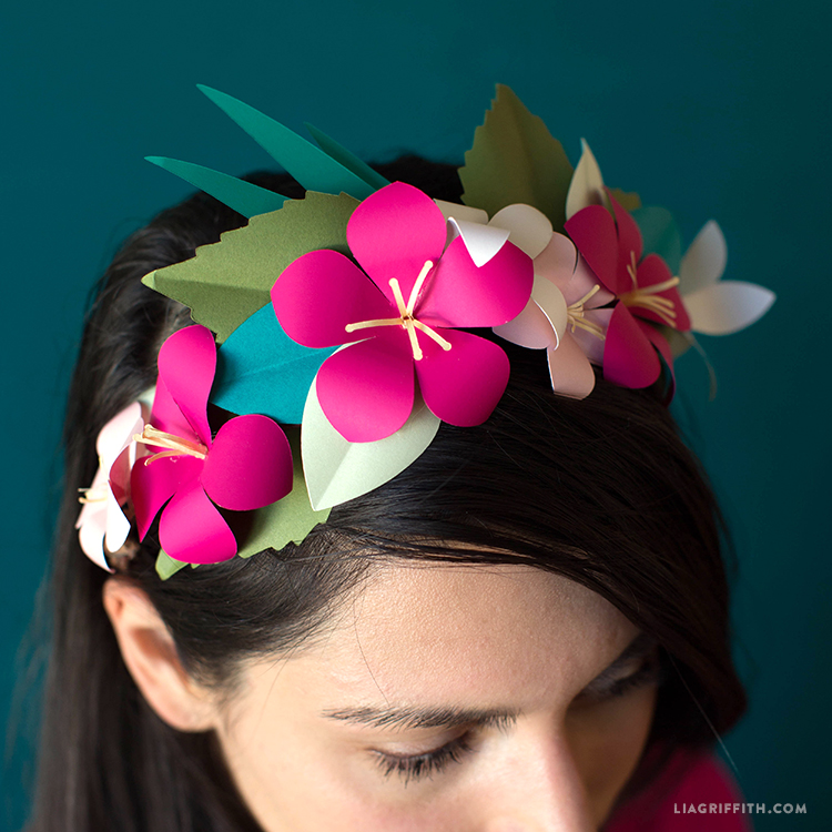 Tropical Flower Crown