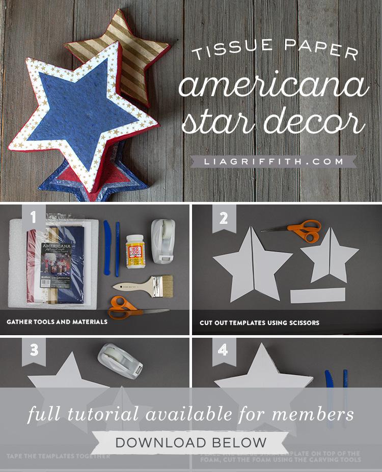DIY Foam Star Party Decorations