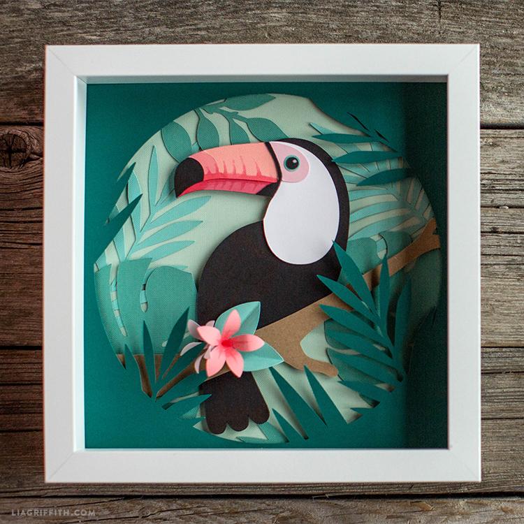 Toucan Wall Hanging