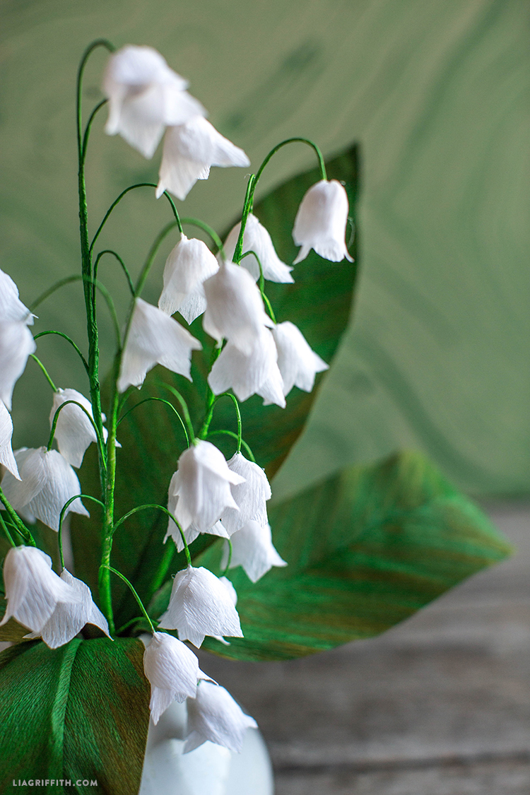 Crepe Paper Lily Of The Valley Lia Griffith