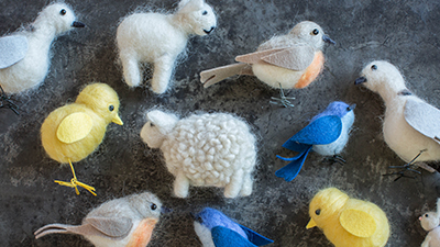 Beginner Needle Felting