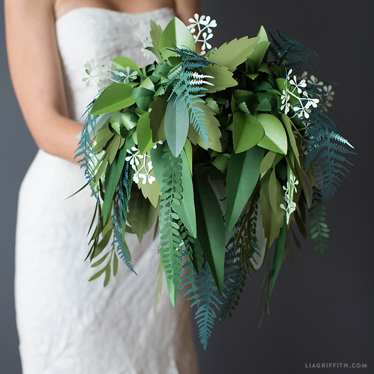 Botanical Bridal Bouquet