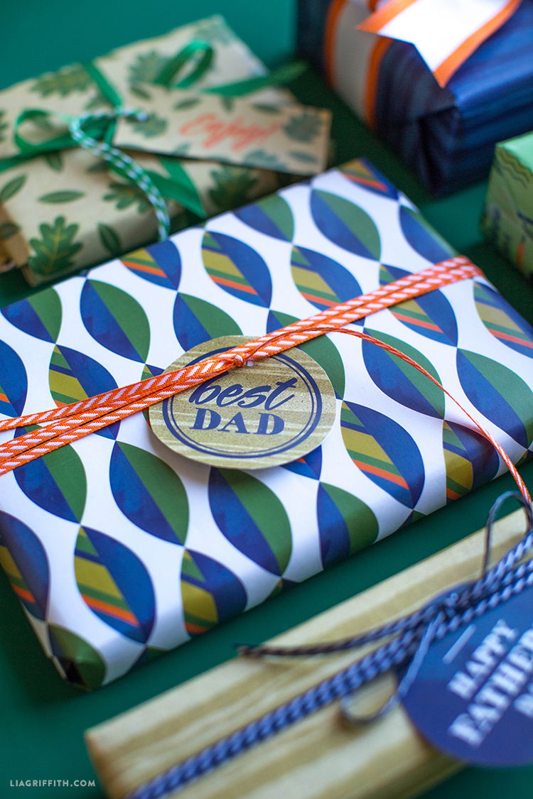 Camp Inspired Gift Wrap
