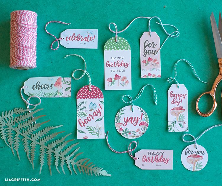 fairy garden gift tags