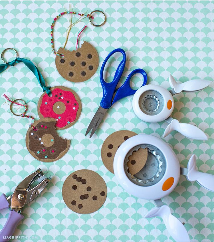 paper keychains
