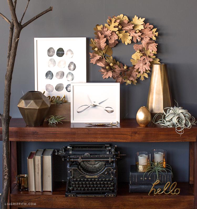 diy crepe paper wreath