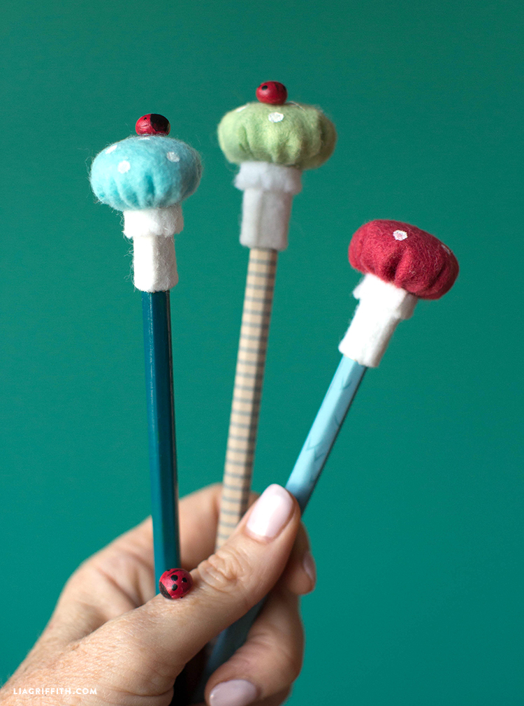 diy pencil toppers