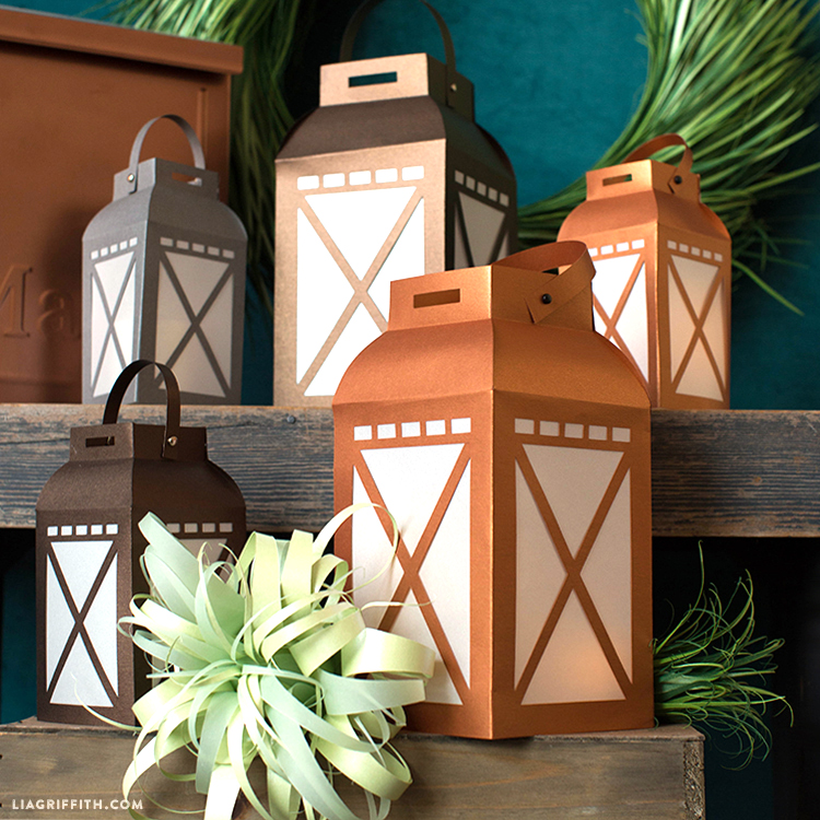 Light Up Your Life. These Paper Garden Lanterns ...