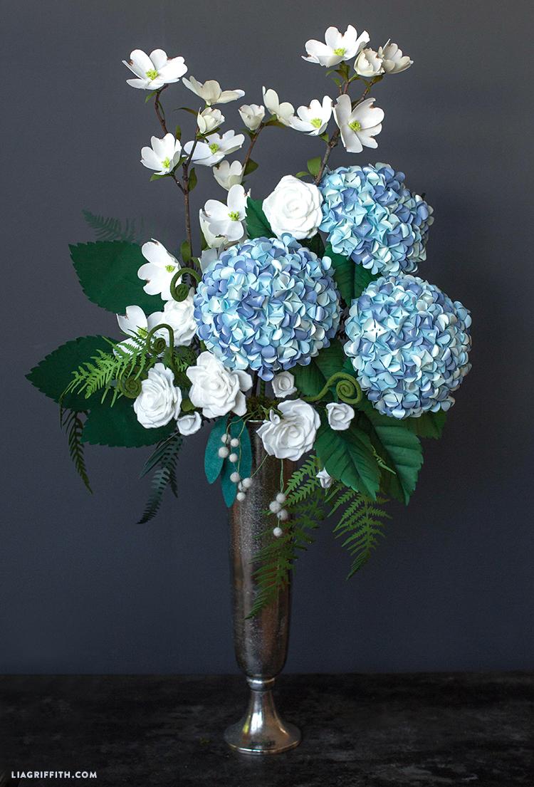 Pacific northwest floral bouquet lia griffith pacific northwest paper flowers diy paper flower bouquet izmirmasajfo