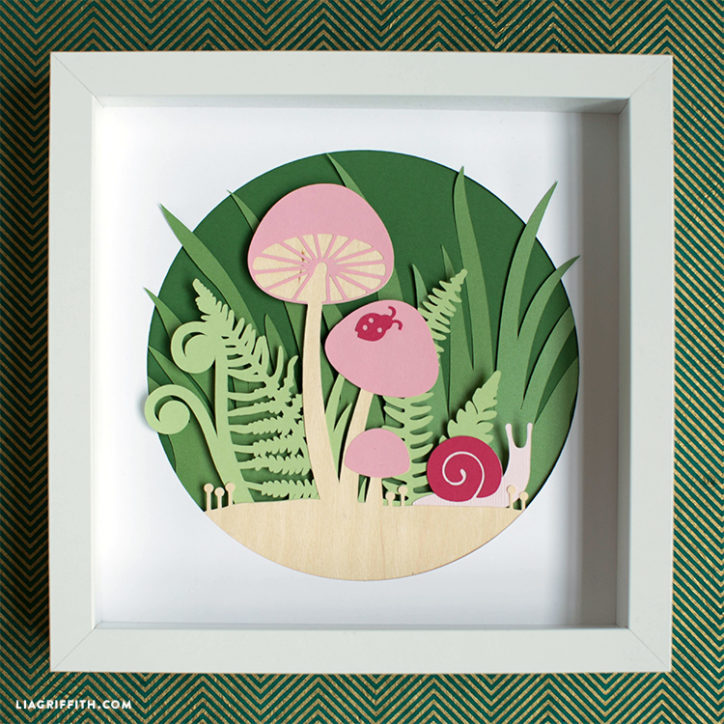 Papercut Woodland Art