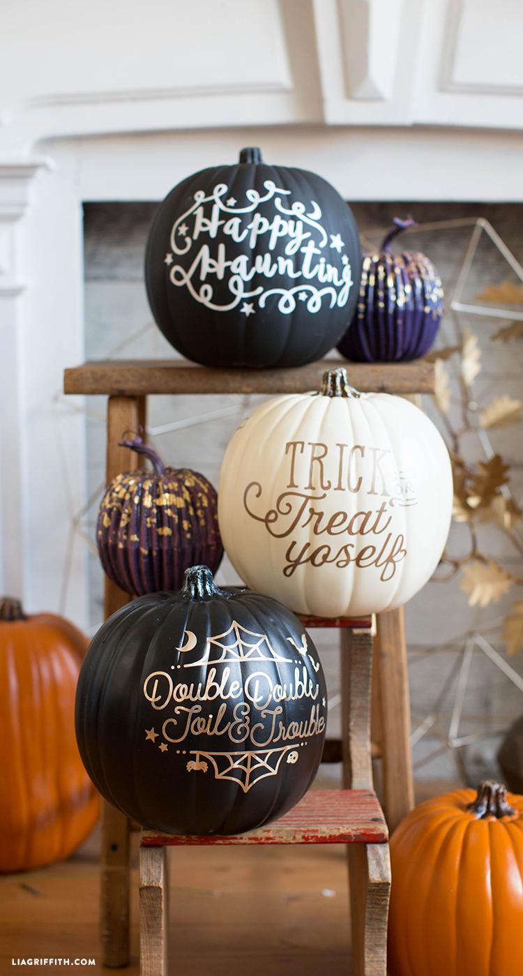 diy halloween pumpkins