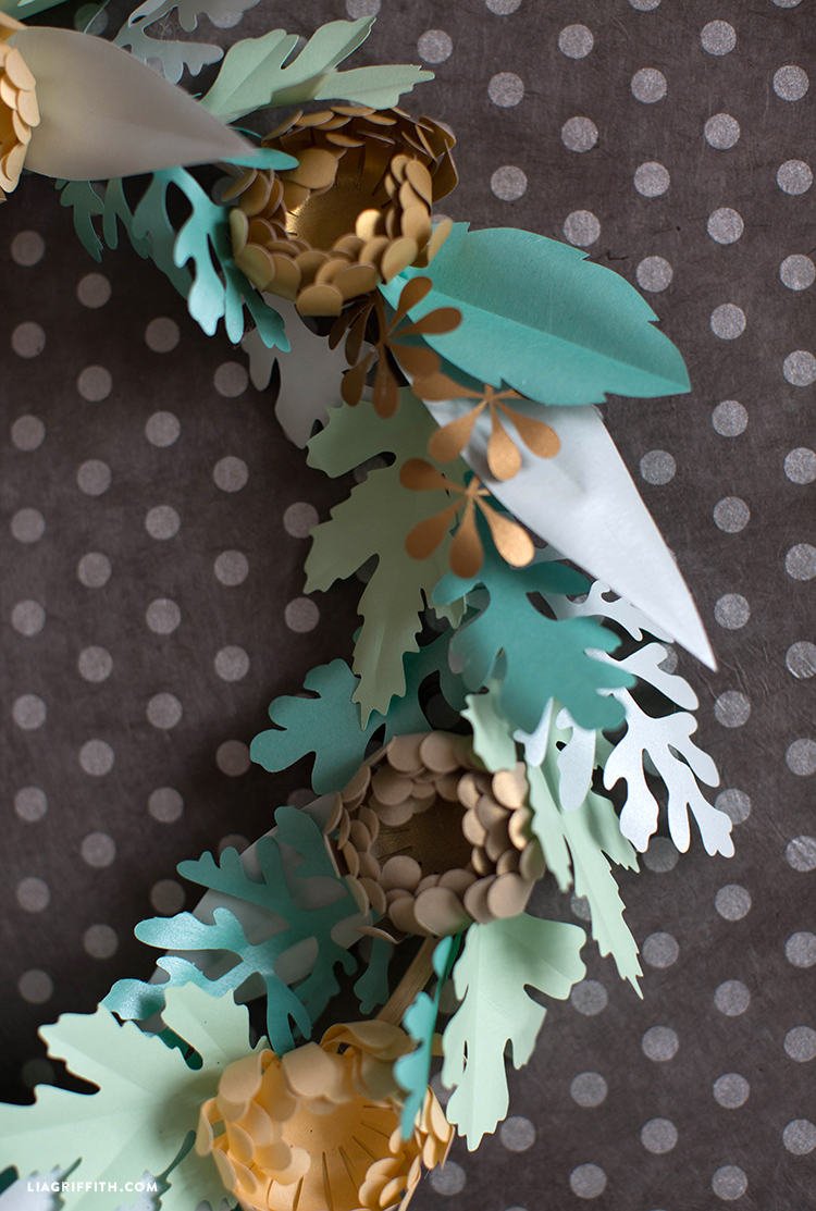 diy mum wreath