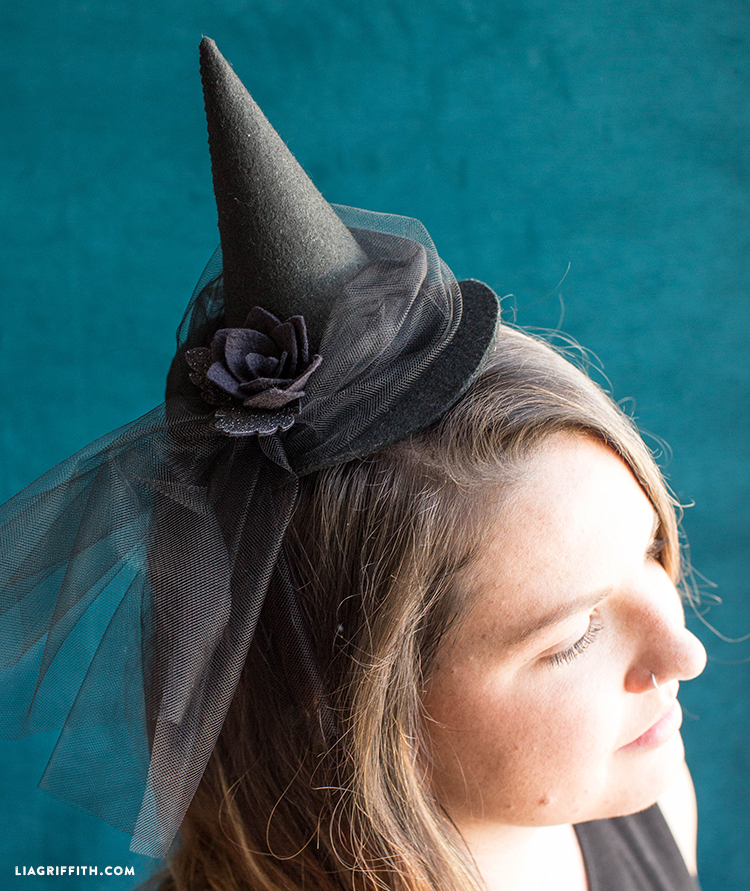diy witch hat headband
