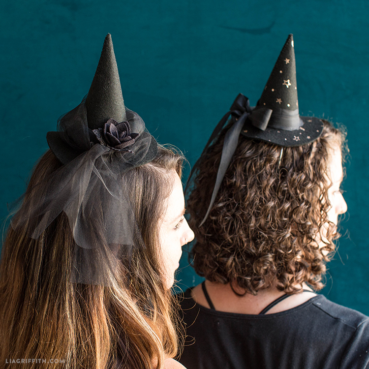 witch hat fascinators