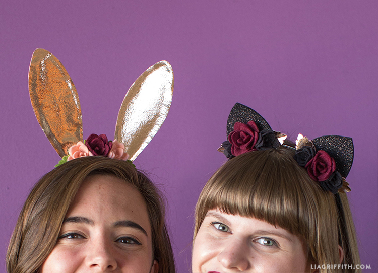 diy bunny and cat ears