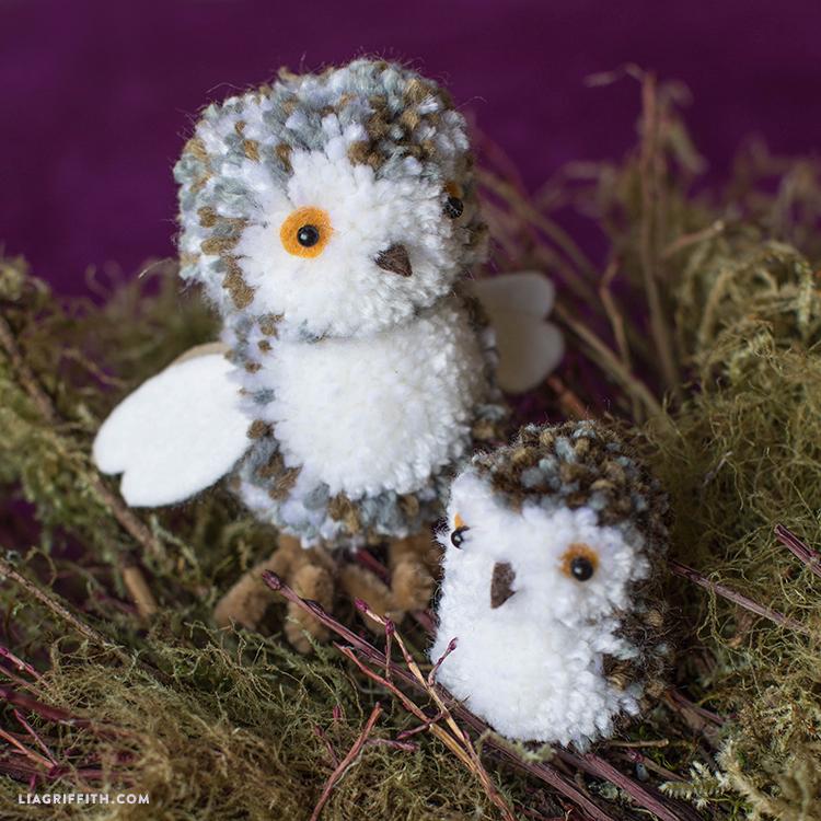 owl pom pom pals