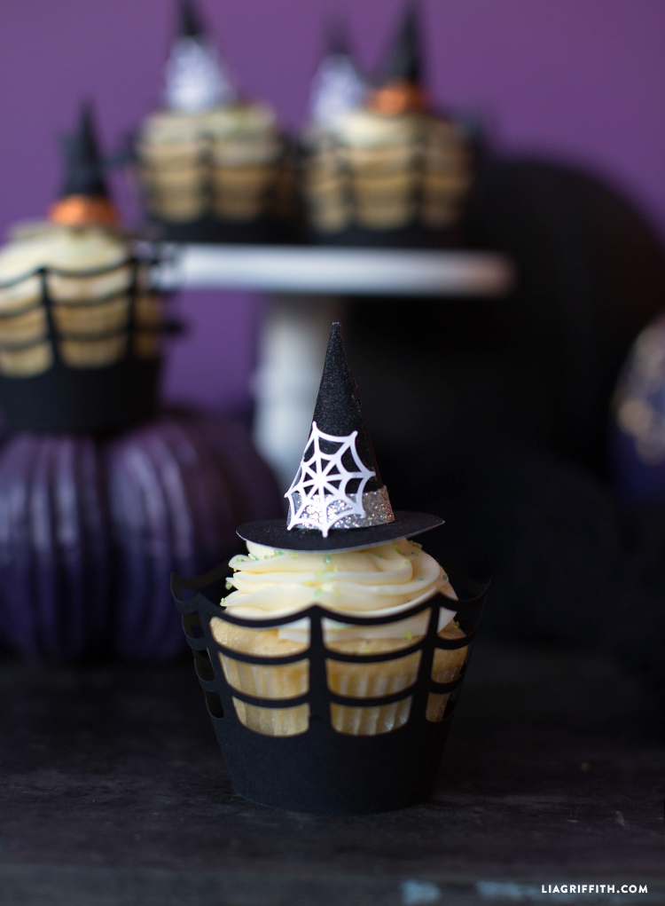 halloween cupcake topper