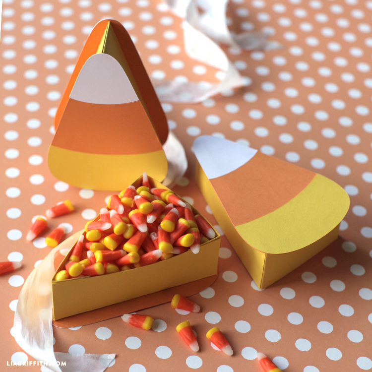 diy candy corn boxes