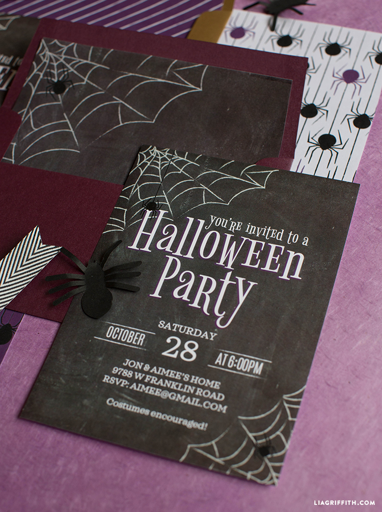 printable halloween invite
