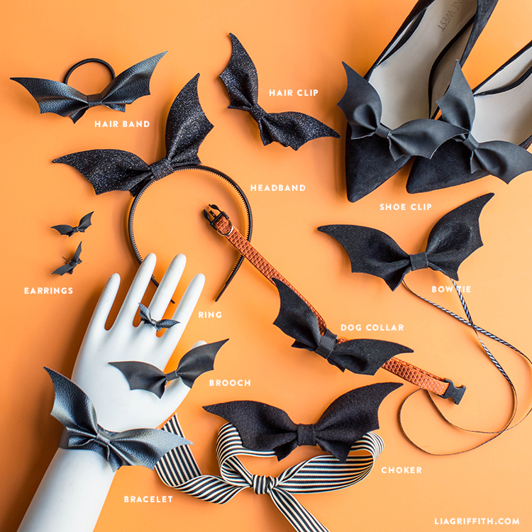 11 ways to wear a diy bat bow