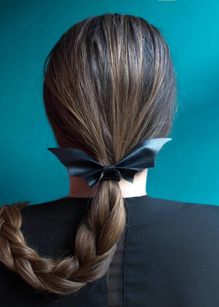diy halloween hair tie