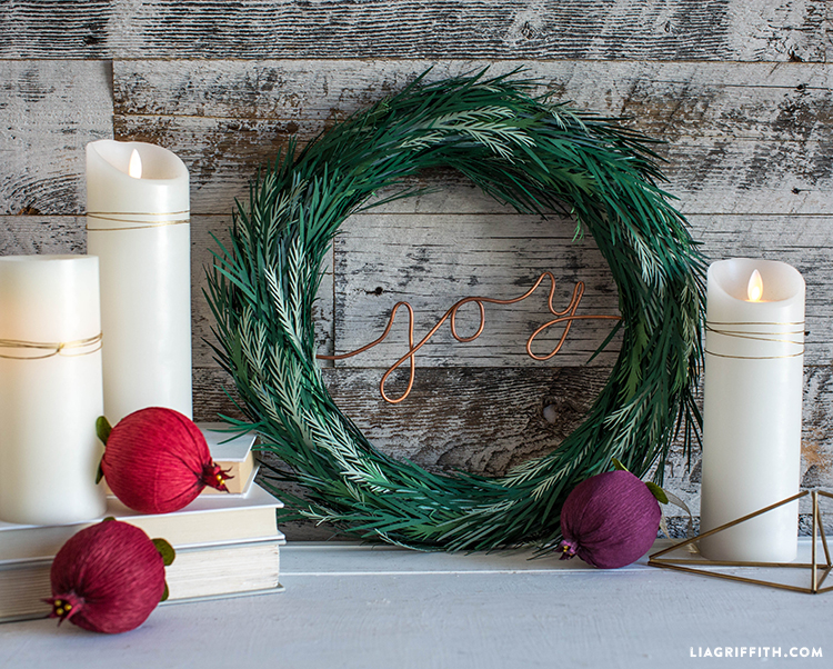 christmas wreath project