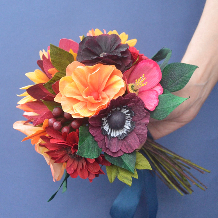 paper bouquet by lucia blacazar