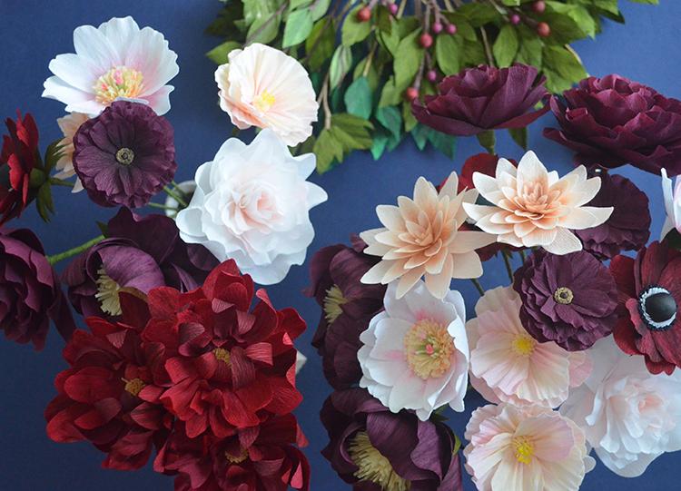 paper flowers lucia balcazar