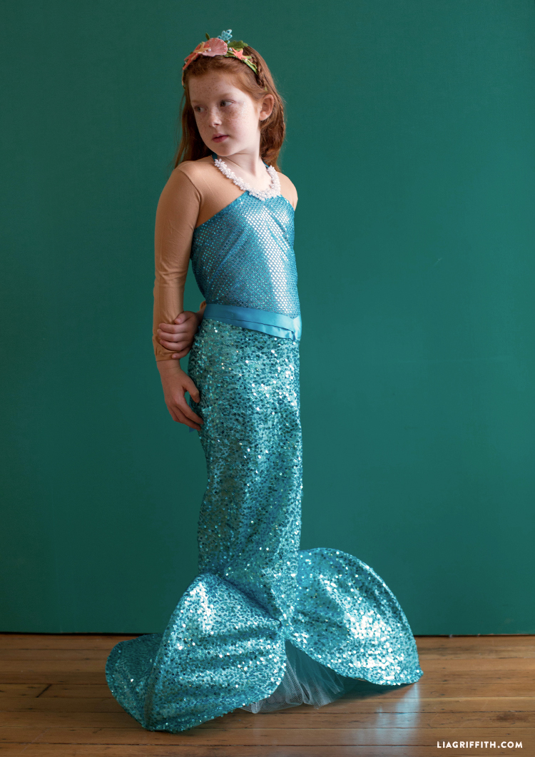 diy little mermaid
