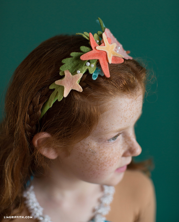 diy kids mermaid crown