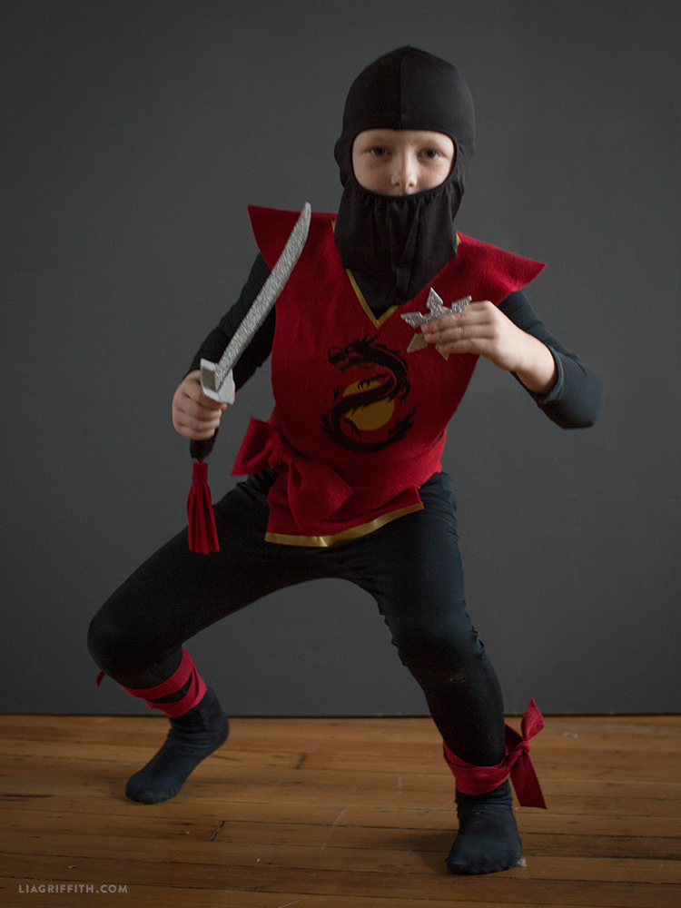 kids ninja halloween costume