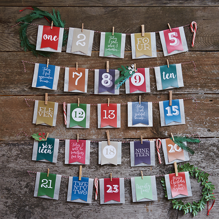 in our shop advent calendar kits