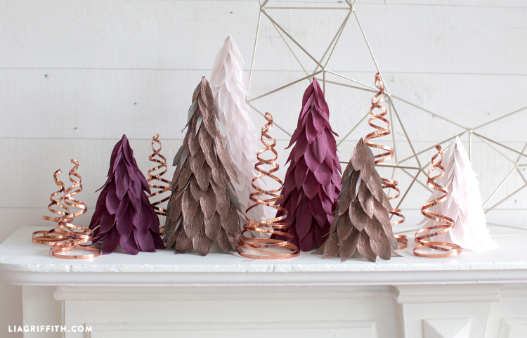 diy copper holiday decor