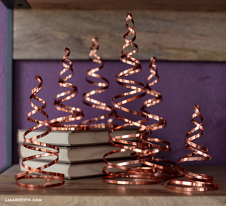 diy copper christmas